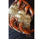 Florida garlic Blue crabs (Per LB)