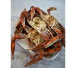 Florida old bay blue crabs (Per LB)