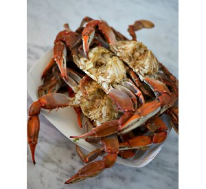 Florida old bay blue crabs (Per LB)