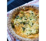 Shrimp and Bay Scallop Quiche ($12.99 Each)