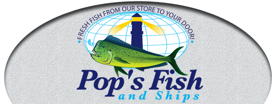 Pop's Fish and Ship Logo